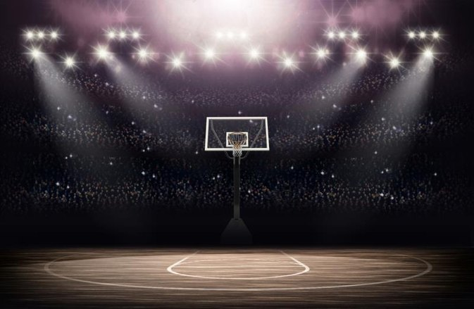 The height of an official nba basketball hoop livestrong com for Free inside basketball courts
