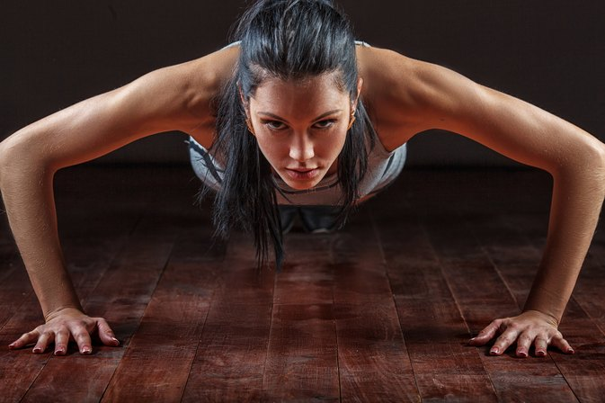 How to Control Breathing During Push-Ups
