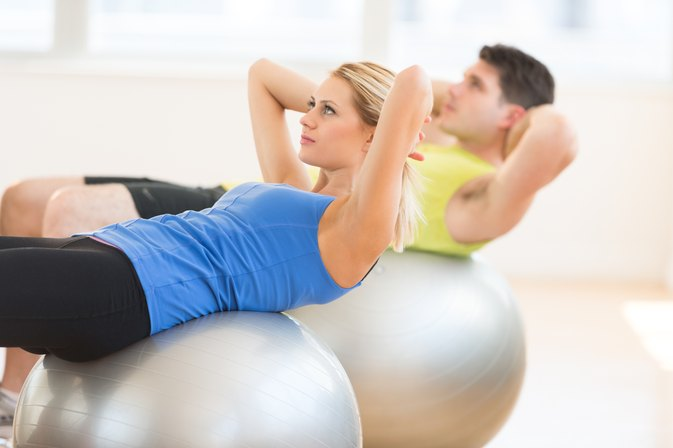 Calories Burned in a Stability Ball Workout