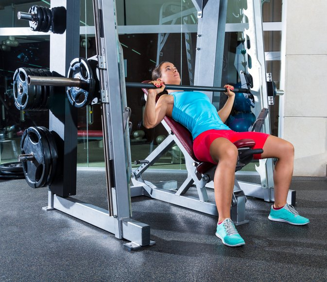 Barbell Military Press: Incline Bench Vs. Military Press