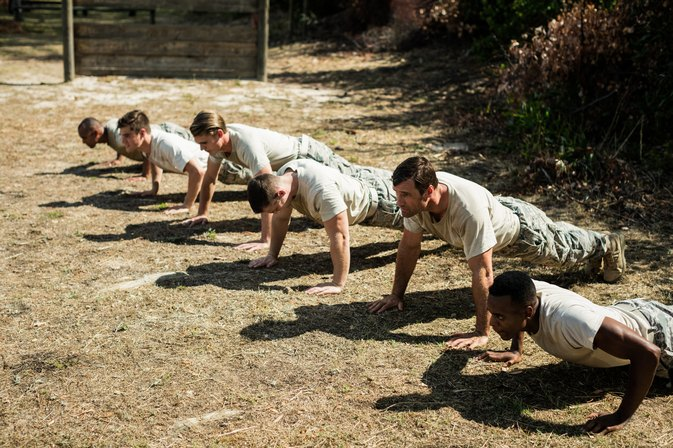 Military Push-Up & Sit-Up Workout Program