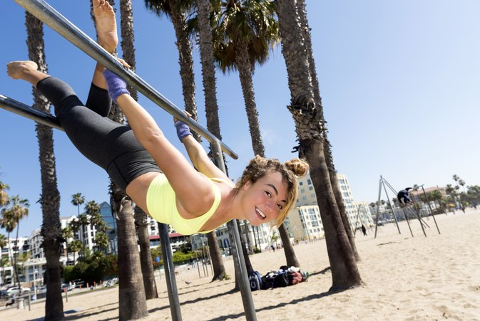 Hanging Upside Down Exercises
