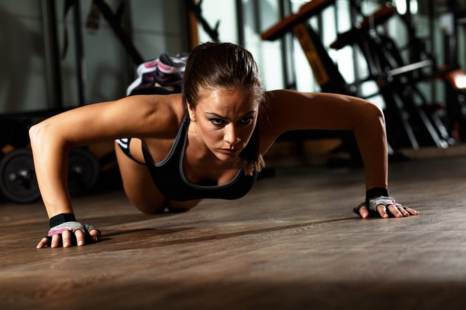 How to Get Bigger Arms With Push-Ups