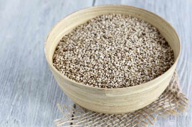 The Nutrients in Raw & Roasted Sesame Seeds