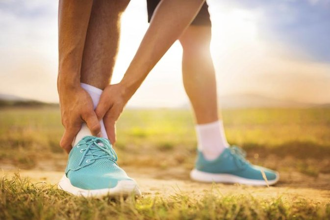 Can You Do Aerobic Exercise With a Sprained Ankle?