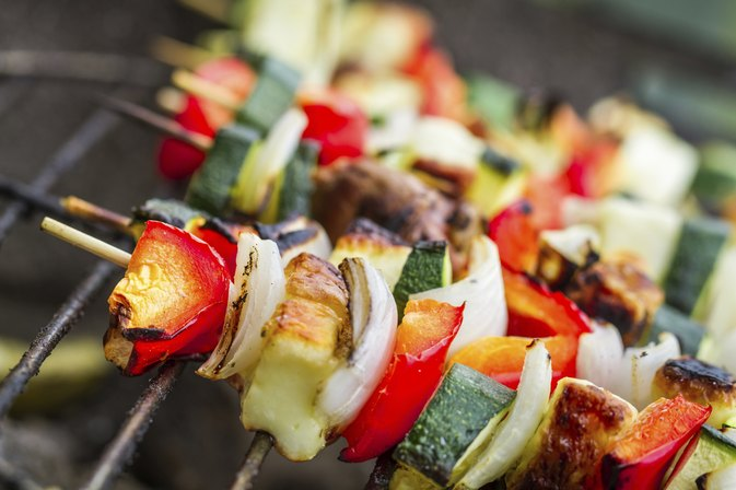 How to Grill Small Sweet Peppers