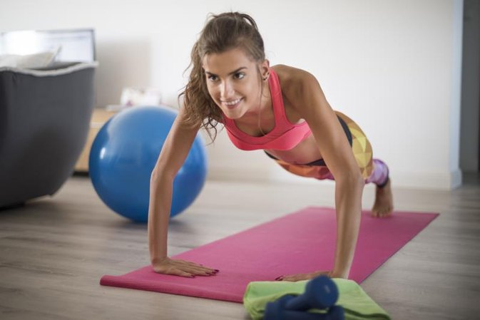 Good Fat Burning Exercises to Do at Home