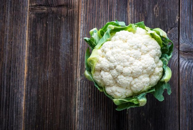 Cauliflower in Low Starch Diet