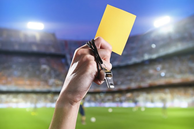 Soccer Rules & Regulations on Yellow Cards