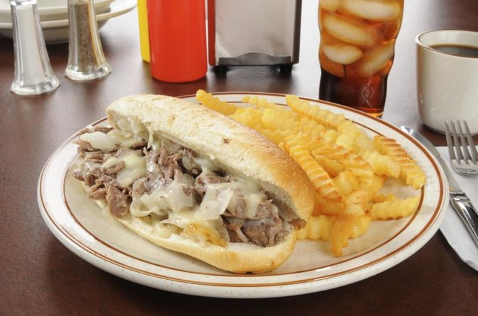 Nutrition in a Cheese Steak Hoagie