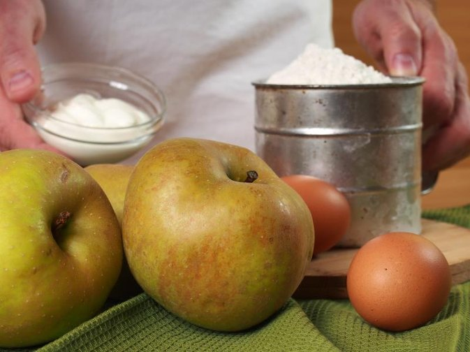 How to Bake Green Apples