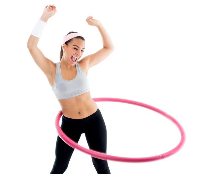 does hula hooping slim your waist livestrong com. Black Bedroom Furniture Sets. Home Design Ideas