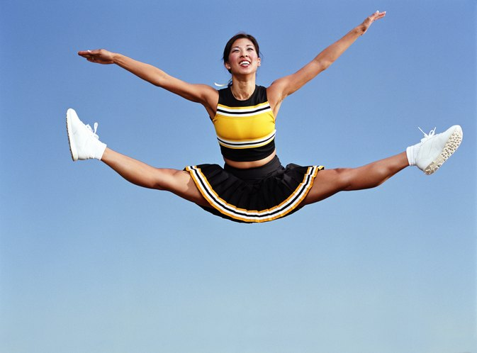 How to Improve Cheer Jumps