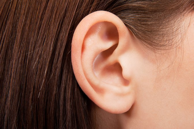 how to stop dry skin in ears