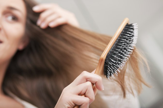Ingredients for a Naturally Softening Hair Dressing