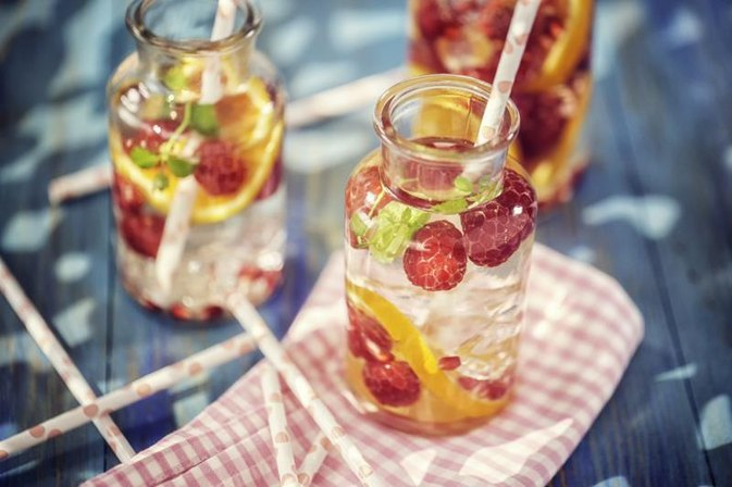 5 Easy Fruit and Veggie Spa Water Recipes