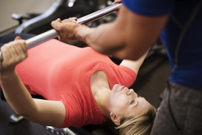 The Average Bench Press for Adults
