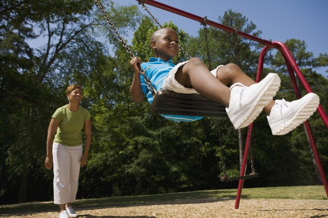 How to Anchor a Swingset