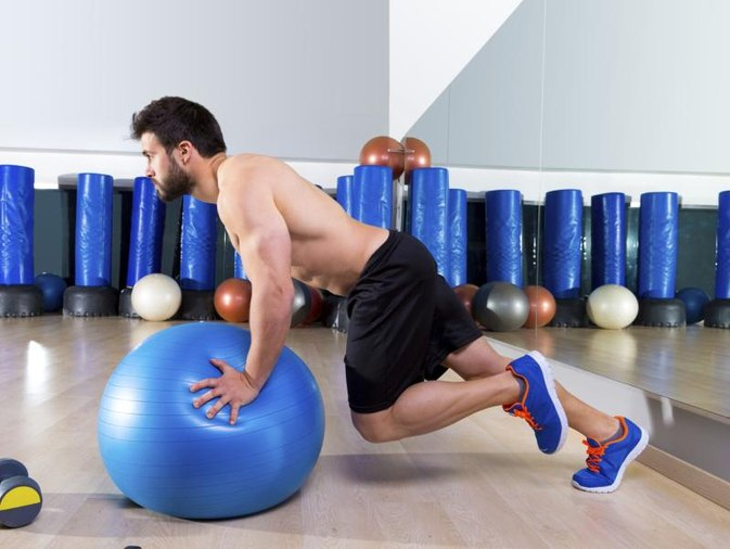 Exercise Ball for Ab Workouts