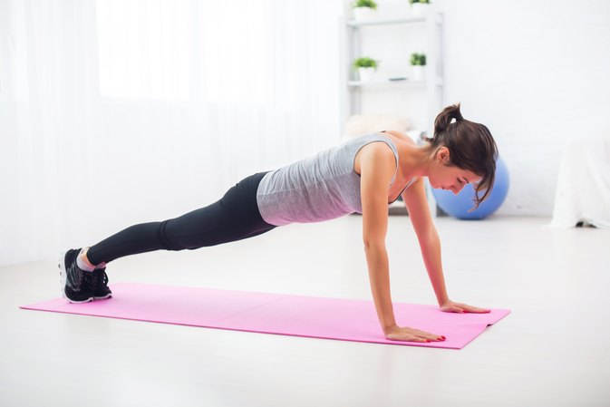 Home Exercises for Women for the Triceps