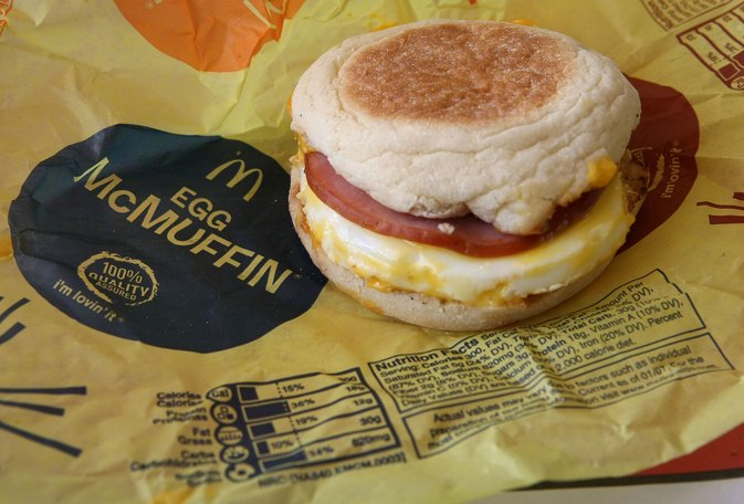What's Really Inside an Egg McMuffin?