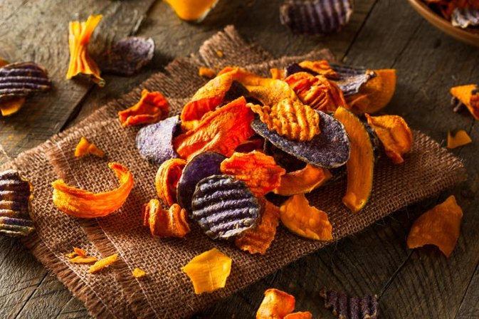 How to Dehydrate Vegetable Chips