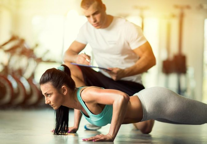 Push-Up Training for Women