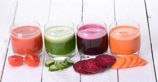 Raw Vegetable Smoothie Nutrition