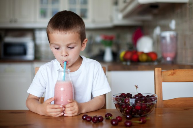 Weight-Gain Shakes for Kids