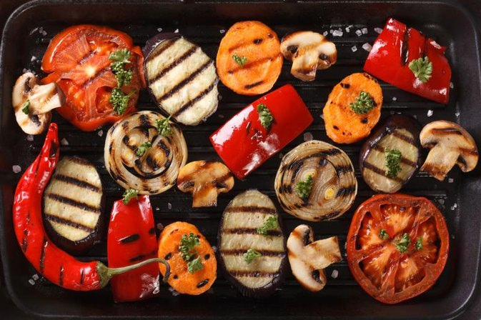 How to Grill Vegetables on a Grill Pan