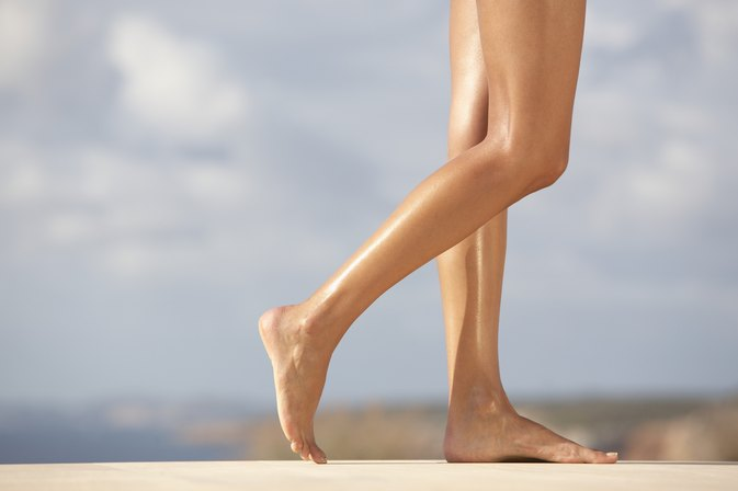 how to make legs look beautiful