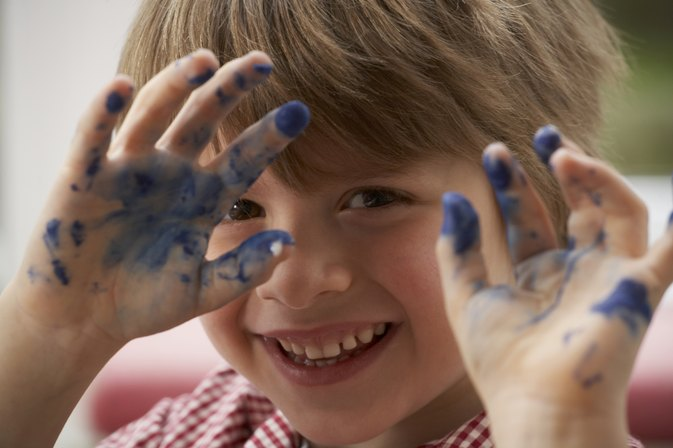 Are Non-Toxic Children's Paints Harmful if Swallowed?