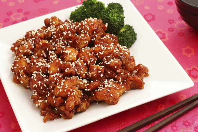 Nutrition Values for Sesame Chicken & Fried Rice