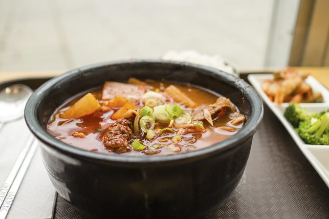 How to Lose Weight Eating Korean Food