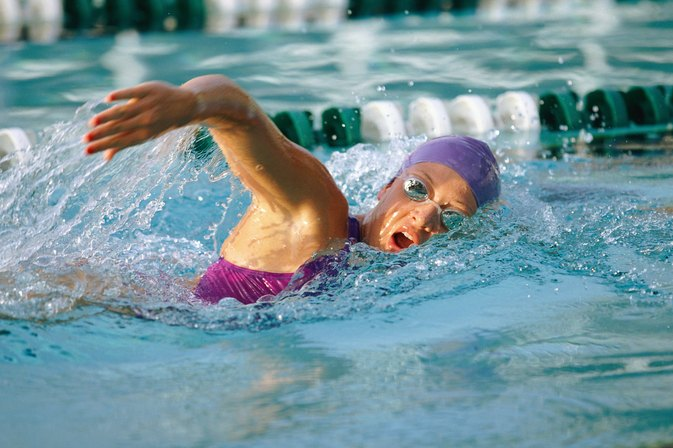 Swimming Exercises to Tone the Belly