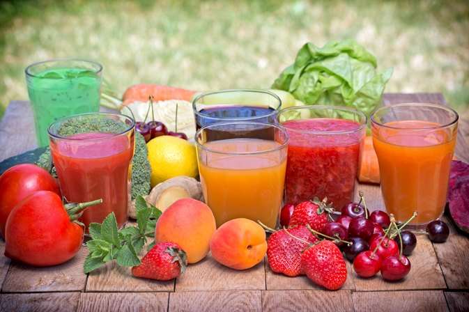Fruit Juice and Stomach Flu