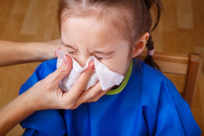 A Runny Nose in a Toddler