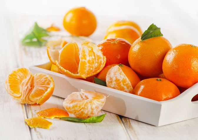The Glycemic Index for Tangerines