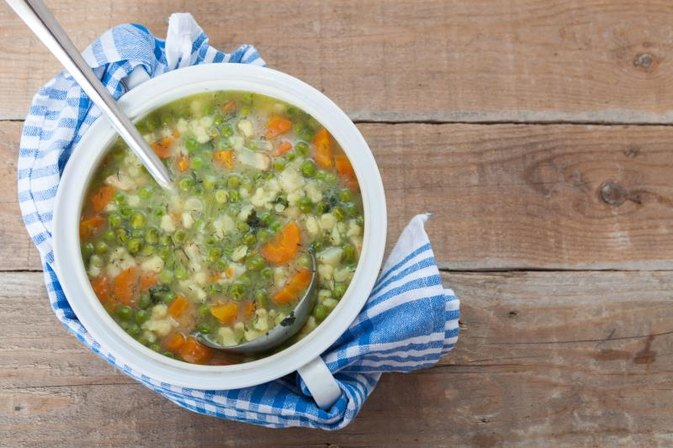 Vegetable Soup for a Cancer Diet