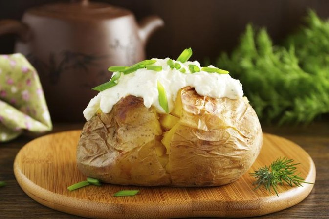 How to Heat Frozen Stuffed Baked Potatoes