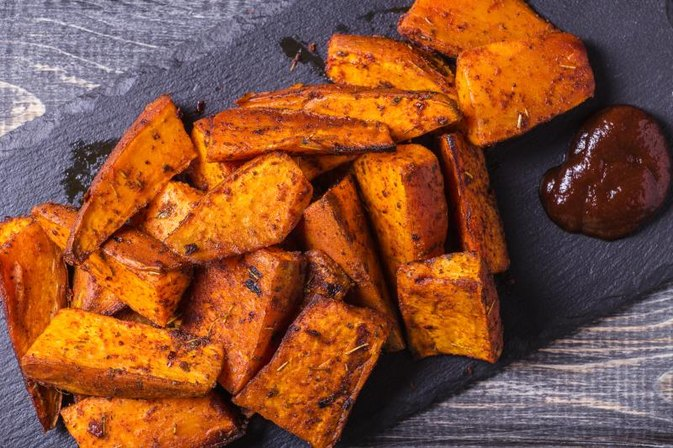 How to Cook Sweet Potatoes on a Gas Grill