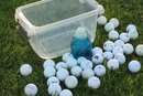How to Clean Dirty Golf Balls