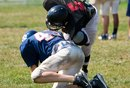 Safety Football Drills