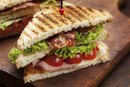 Calories in a BLT on Wheat Bread