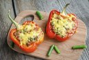 Low Carb Stuffed Bell Pepper