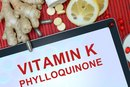 Vitamin K & Slow Clotting Time