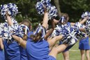 Different Formations for Cheerleading Competition Routines