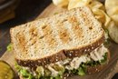 How Many Calories in a Whole Tuna Sandwich on Wheat?