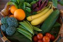 Low Glycemic Vegetables and Fruits