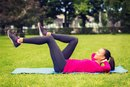 How to Lose Weight Doing Bicycle Crunches